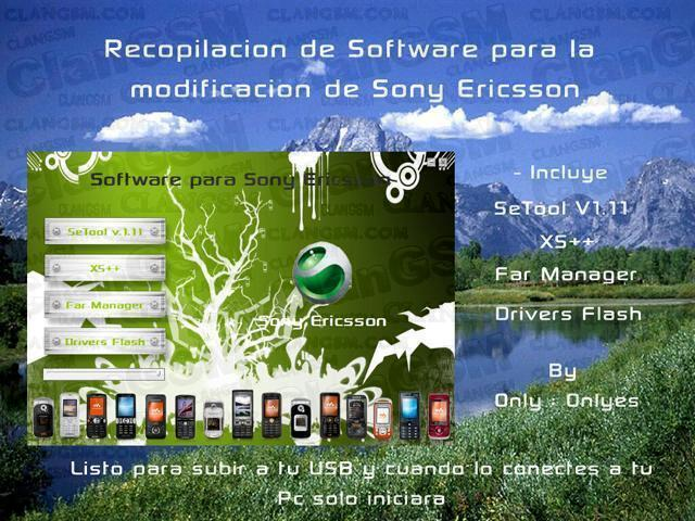 AIO software para modificar sony ericsson