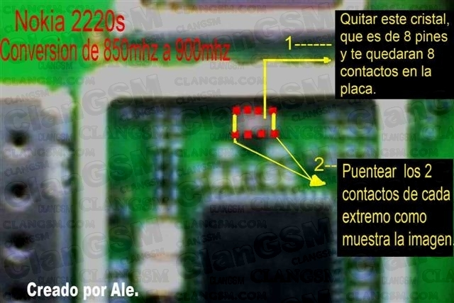 Cambio De Frecuencia A Nokia 2220s!!!! , Funciona 100%!!!!