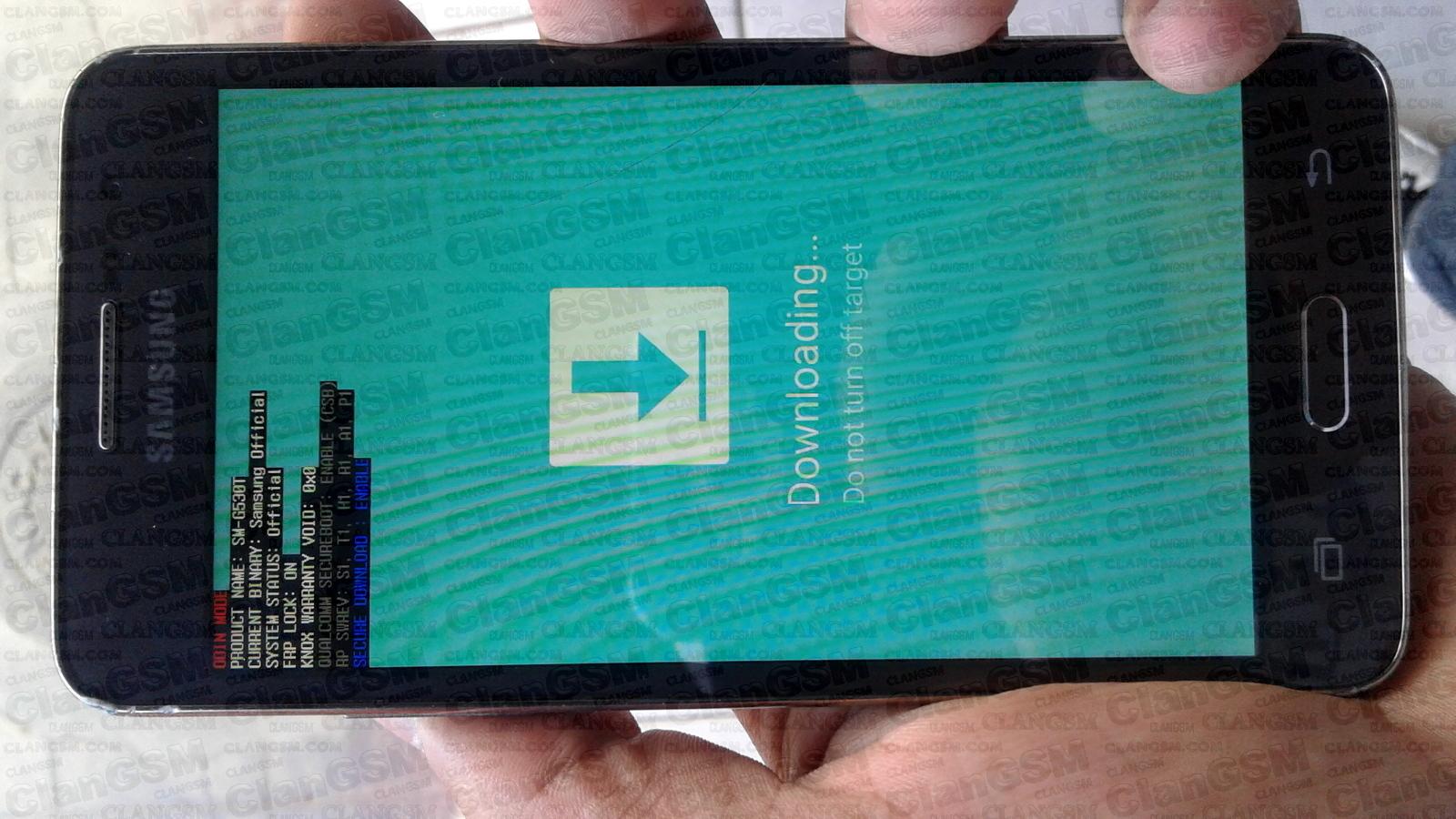 Aporte Cuenta Google Samsung G530t - Clan GSM - Unión de los