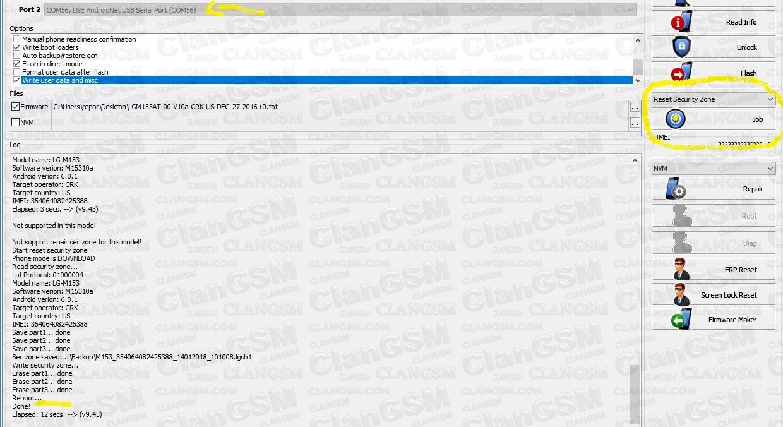 Error Al Flashear Lg M153 - Clan GSM - Unión de los Expertos
