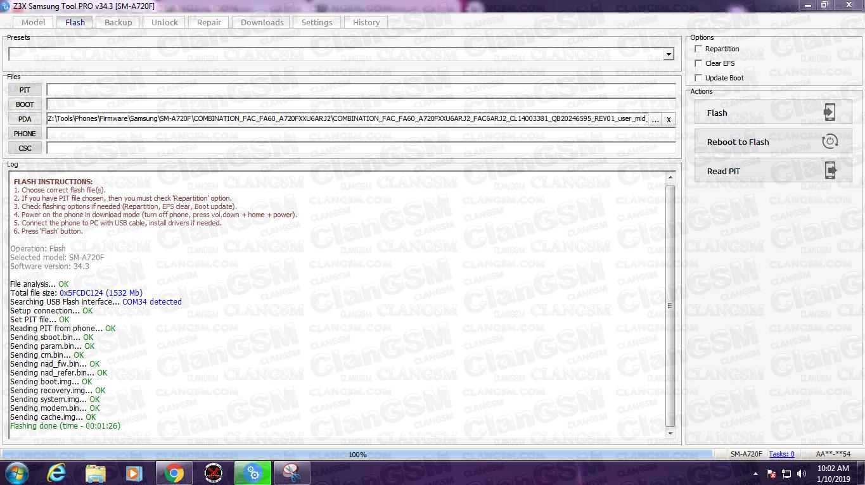 Samsung A720f Frp Remove File