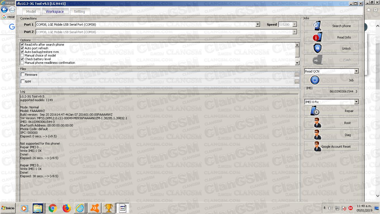 Reparar Imei Lg H735p Beat 4 Sin Root Con Crack Lg - Clan
