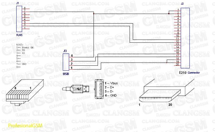 pinout cable hybrid rj45 de samsung e210 clan gsm uni 243 n de los expertos en telefon 237 a celular