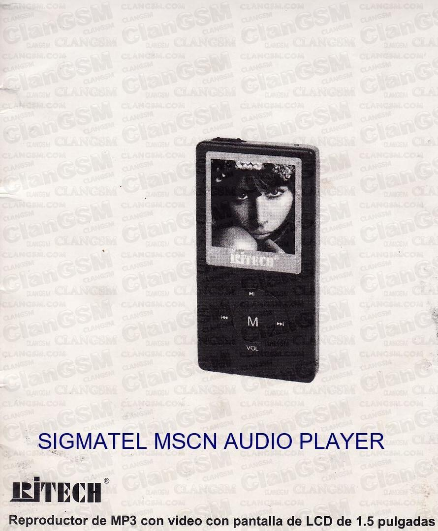 SIGMATEL MSCN AUDIO PLAYER WINDOWS 8 X64 DRIVER