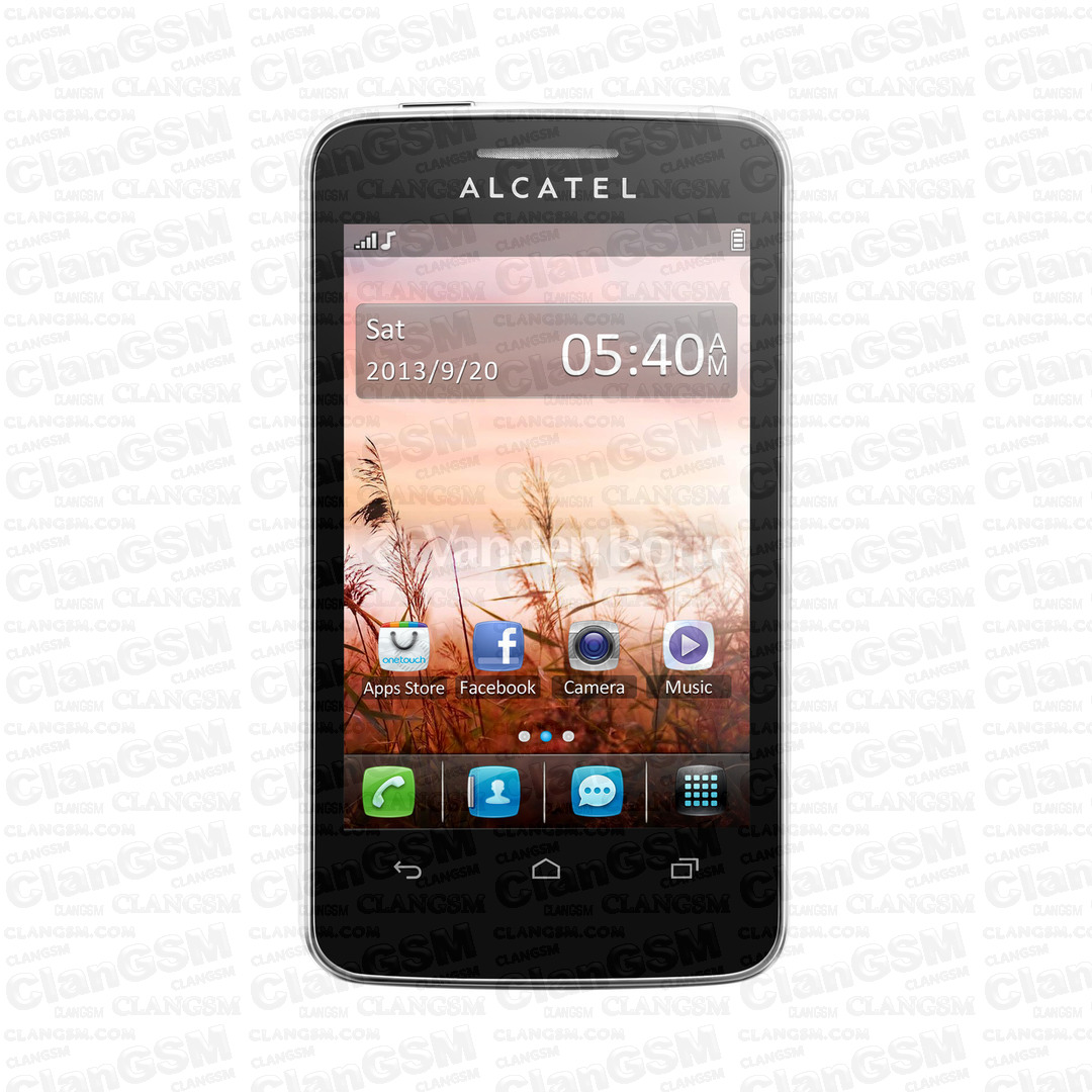 Андроид alcatel 3041d 3