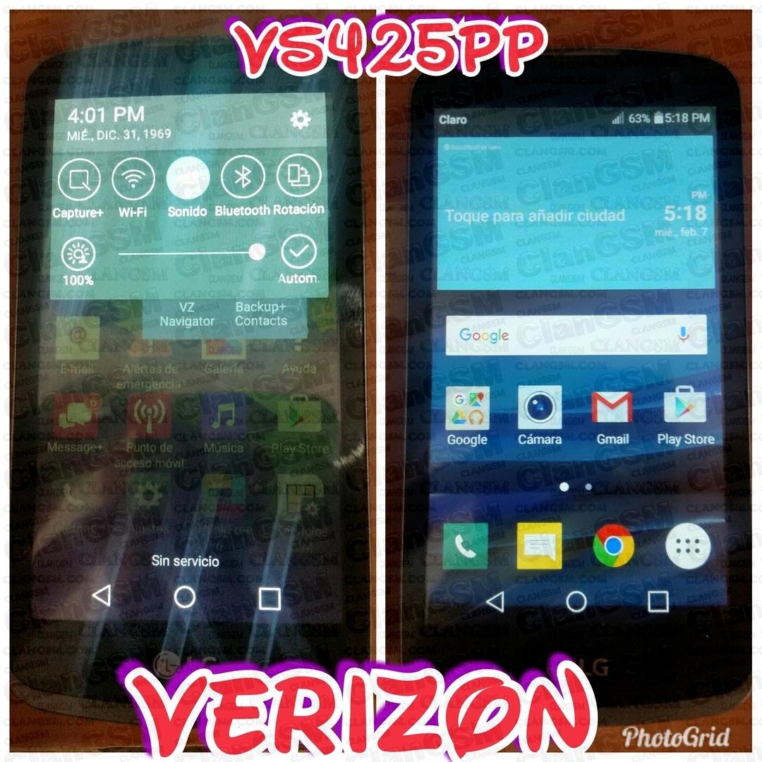 Lg Vs425pp Unlock / Lg Zone 3 - Clan GSM - Unión de los