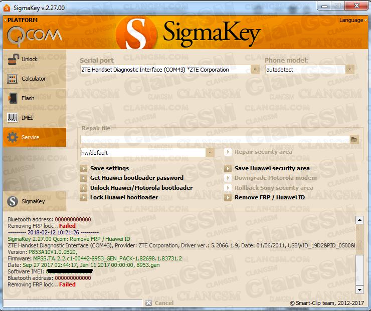 Zte Blade V8 Frp Ok Sigma - Clan GSM - Unión de los Expertos en