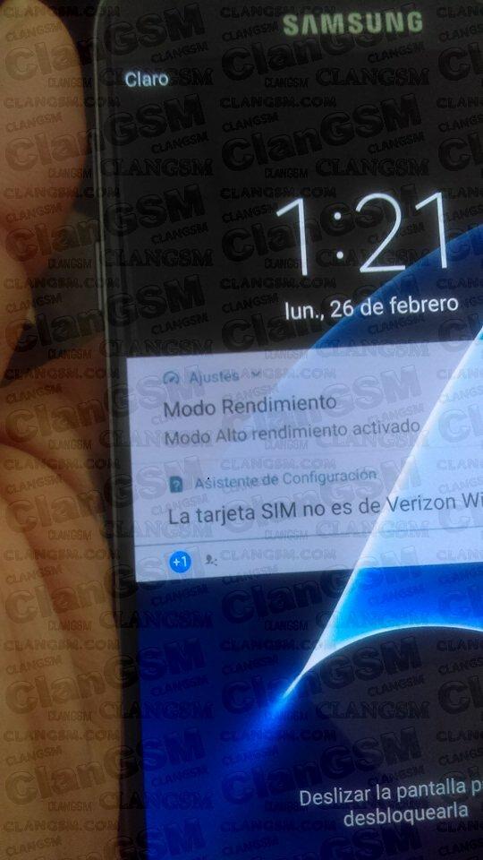 Unlock S7 Edge G935v De La Compañia Verizon ???? - Clan GSM