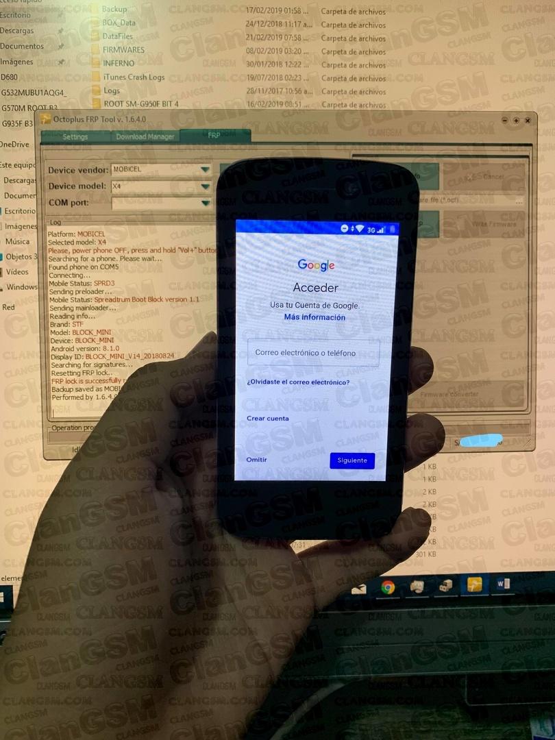 Frp Para Stf Block Mini Android 8 1 0 - Clan GSM - Unión de los