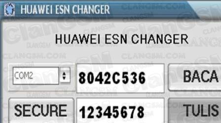 huawei esn changer