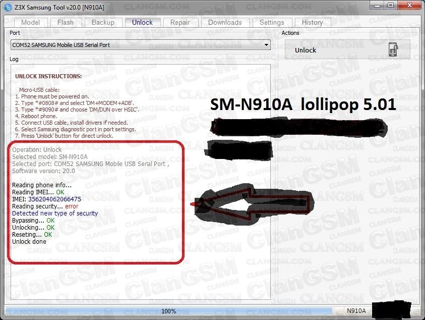 Unlock N910a Note 4 - Clan GSM - Unión de los Expertos en