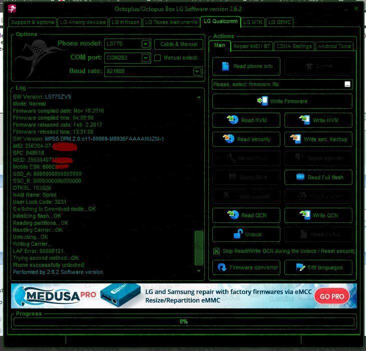 Unlock Y Apn Ls775 7 0 Sin Root! - Clan GSM - Unión de los Expertos