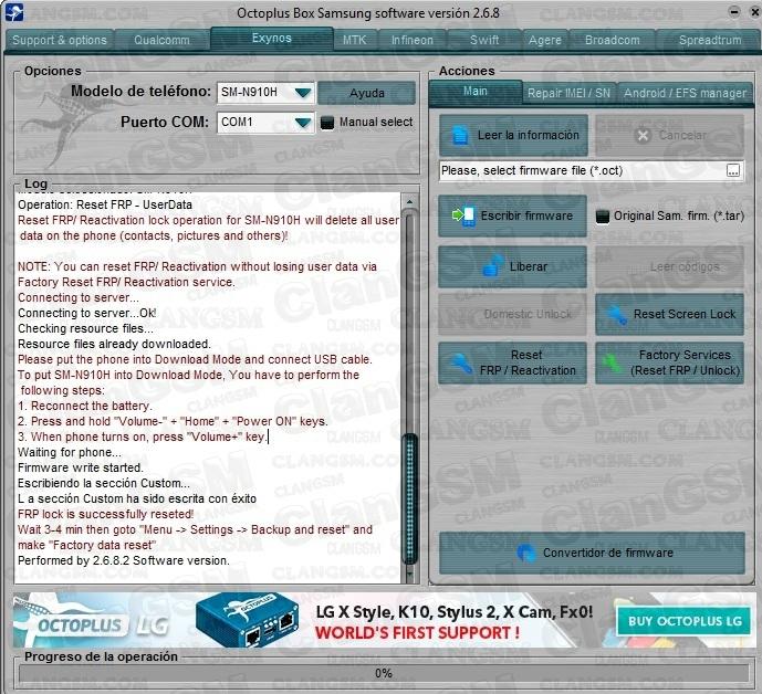 Aporte Quitar Cuenta Samsung N910h 5 1 1 - Clan GSM - Unión de los