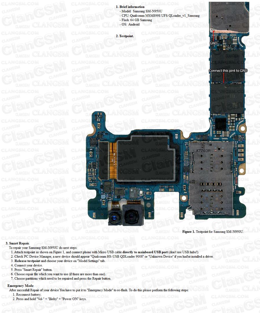 No Puedo Reparar El Boot Samsung N8 Sm-n950w - Clan GSM - Unión de