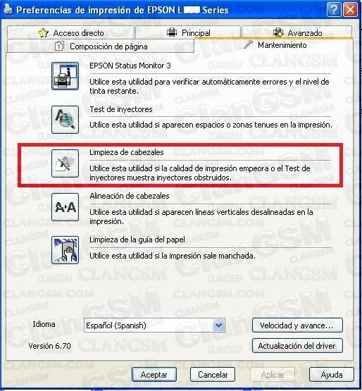 Ayuda Con Impresora Epson L350 No Imprime Clan Gsm Unión De Los