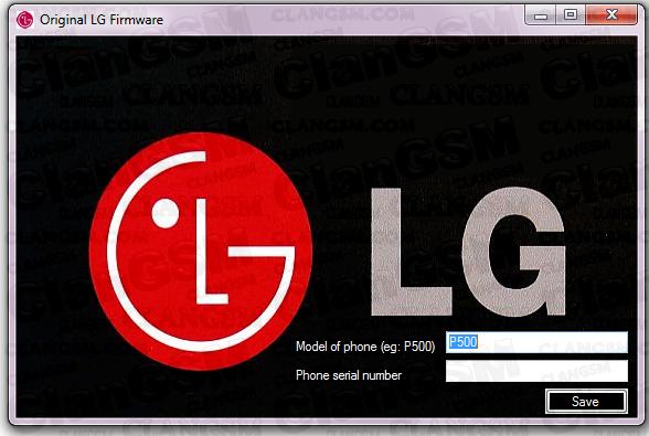 descargar el firmware de lg l7 p705g