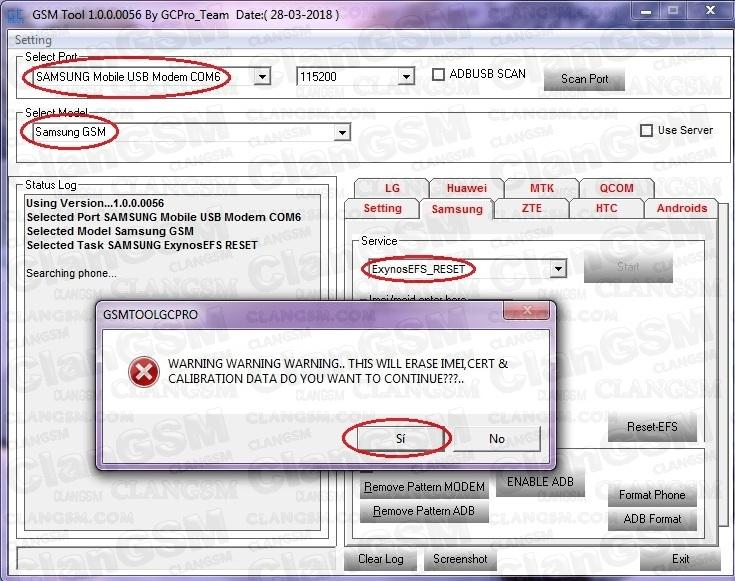 Aporte! Unlock S737tl J7 Sky Pro - Clan GSM - Unión de los