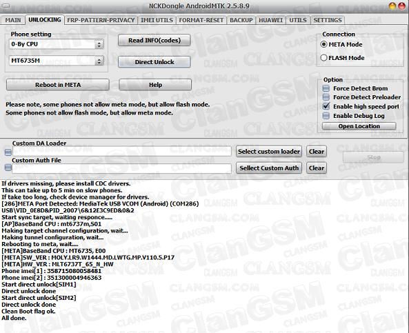 Unlock, Serial, Frp, Maxwest Nitro 4n Lte - Clan GSM - Unión de los