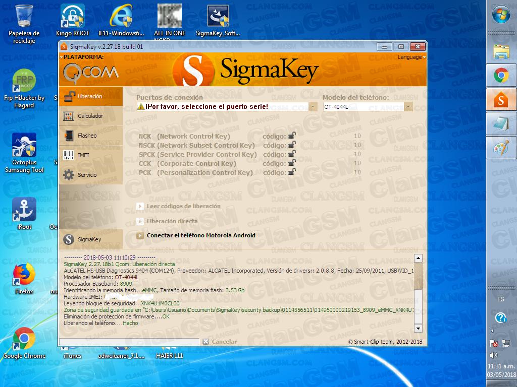 Unlock Alcatel 4044l - Clan GSM - Unión de los Expertos en Telefonía