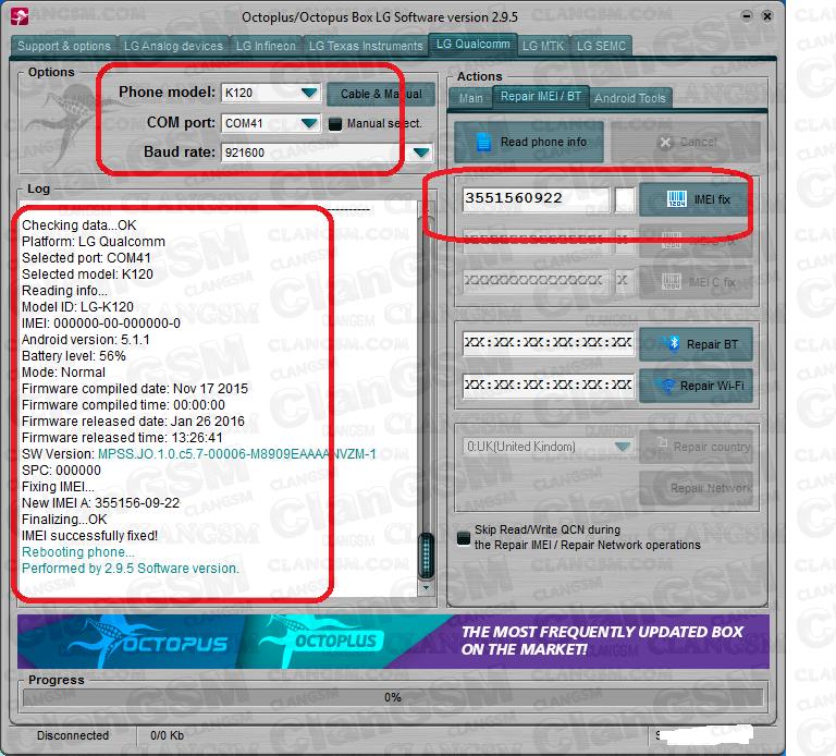 Liberacion Vs425pp Y Vs425lpp Verizon Convertido A K120