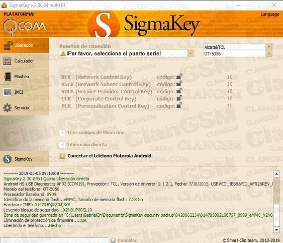 Aporte Unlock Alcatel 5065n De Metro - Clan GSM - Unión de