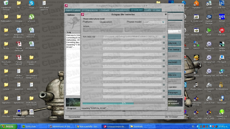 descargar firmware del cel lg znfk430y