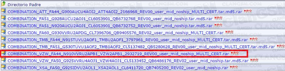 Firmware Factory Binary / Combination Files - Clan GSM