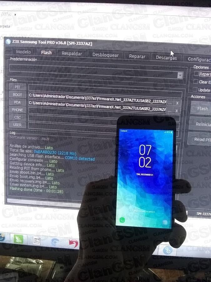 Solucion Definitiva De Unlock En El Samsung Sm-j337az Bit5