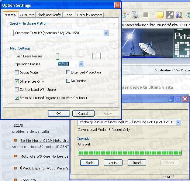 Liberar Samsung sgh-e215l Sin Software