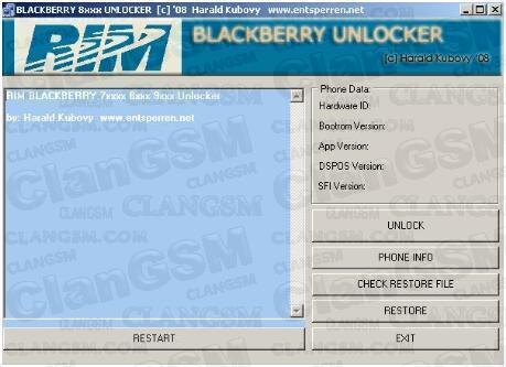 descargar programa para flashear blackberry