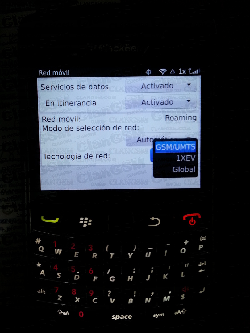 Blackberry 9360 No Opcion Para Ingresar Codigo Mep2 - Clan
