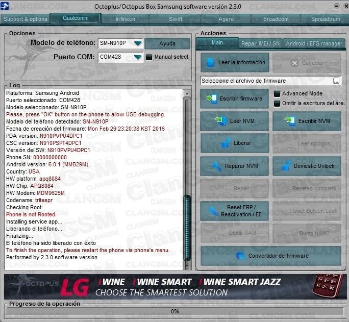 Unlock Sm-n910p 6 0 1 - Clan GSM - Unión de los Expertos en