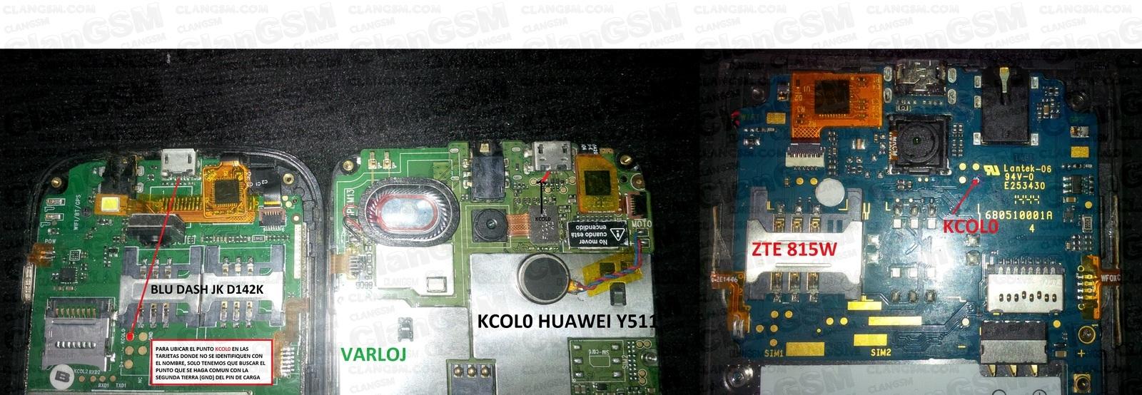 Identifica Kcol0 En Cualquier Mtk - Clan GSM - Unión de los