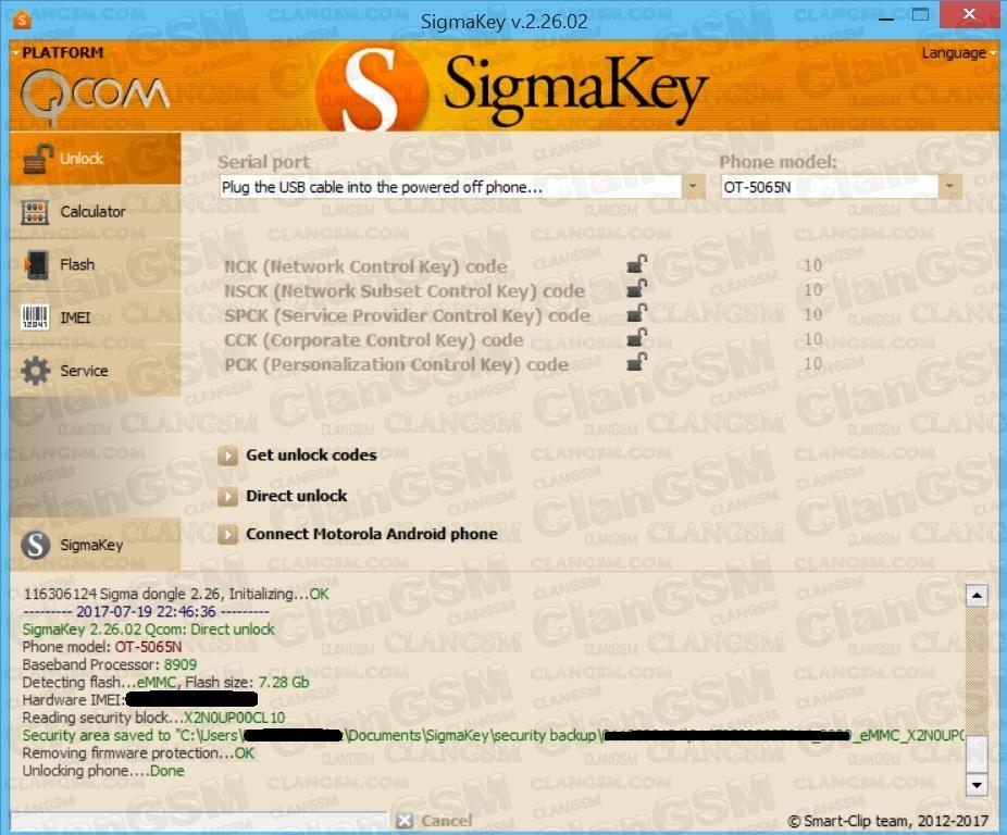 Aporte Unlock Alcatel 5065n De Metro - Clan GSM - Unión de los