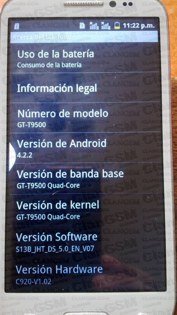 Android htm t9500