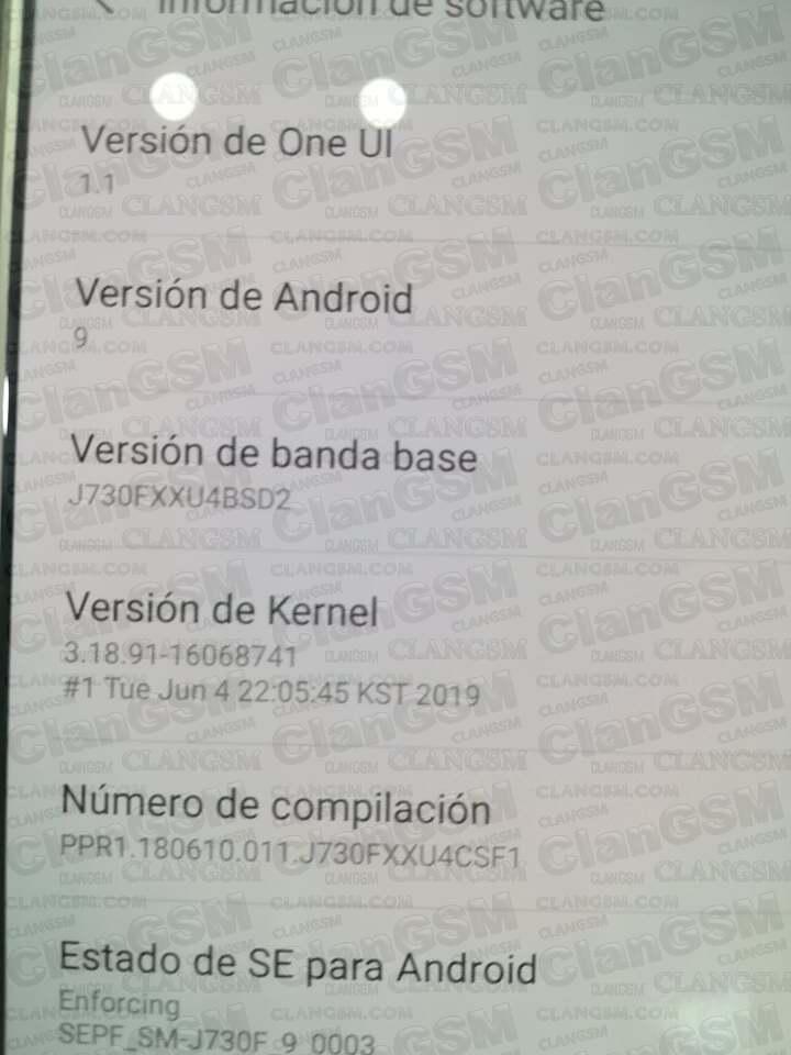 Aporte Reparar Imei J730f Android 9 0 Bit 4 With Chimera