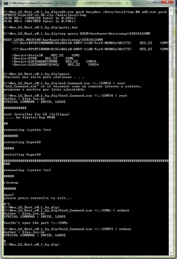 Aporte Unlock Lg Vs985 5 0 1 Verizon - Clan GSM - Unión de los