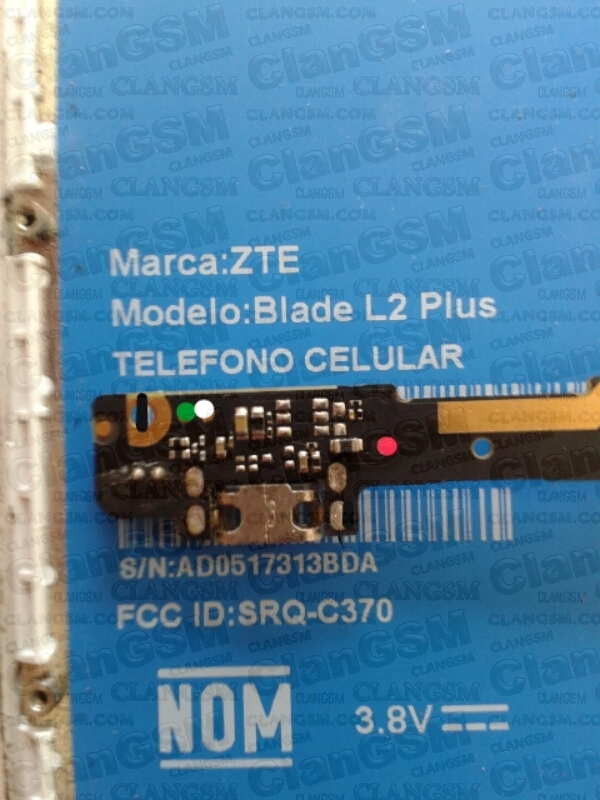 Sin Pistas De Carga    Zte       Blade       L2    Plus  Clan GSM  Uni  n de los Expertos en Telefon  a Celular