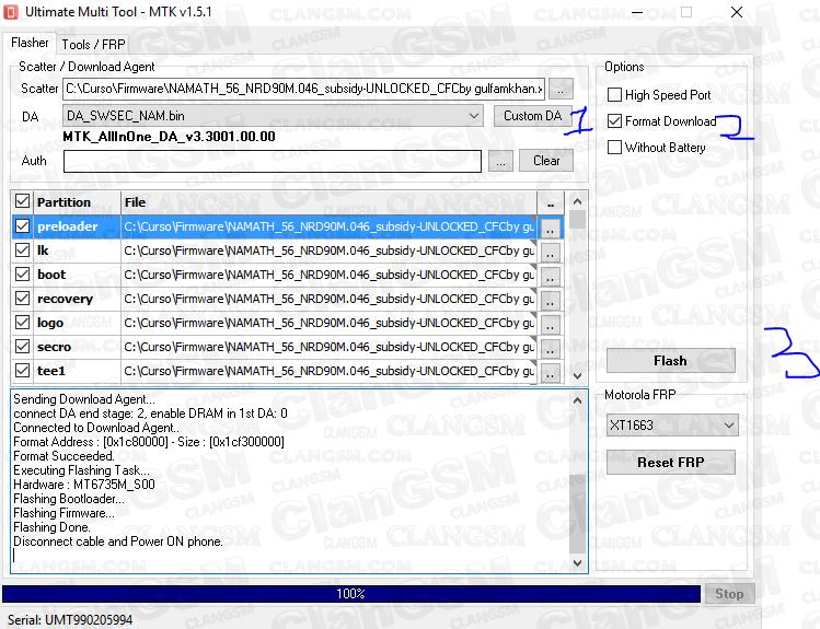 Revivir Moto C Xt1756 - Clan GSM - Unión de los Expertos en