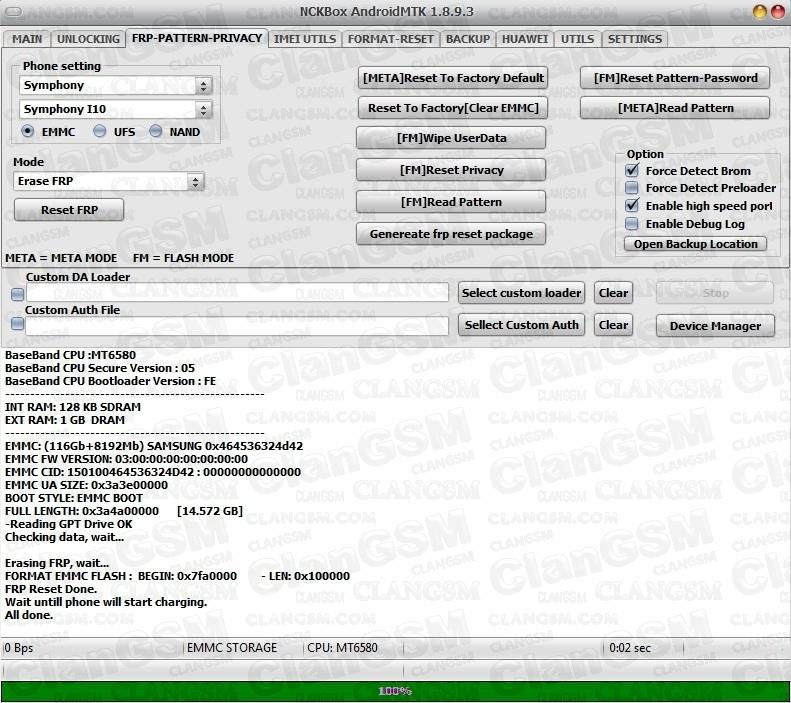 Alcatel 5009a - Frp - Nck Pro (aporte) - Clan GSM - Unión de los