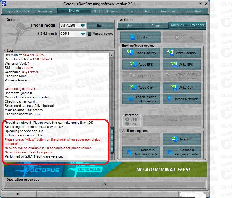 Samsung A520f U8 Repair Imei -aporte - Clan GSM - Unión de los