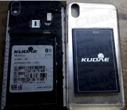 Kudae A250- Mt6580- Firmware - Clan GSM - Unión de los