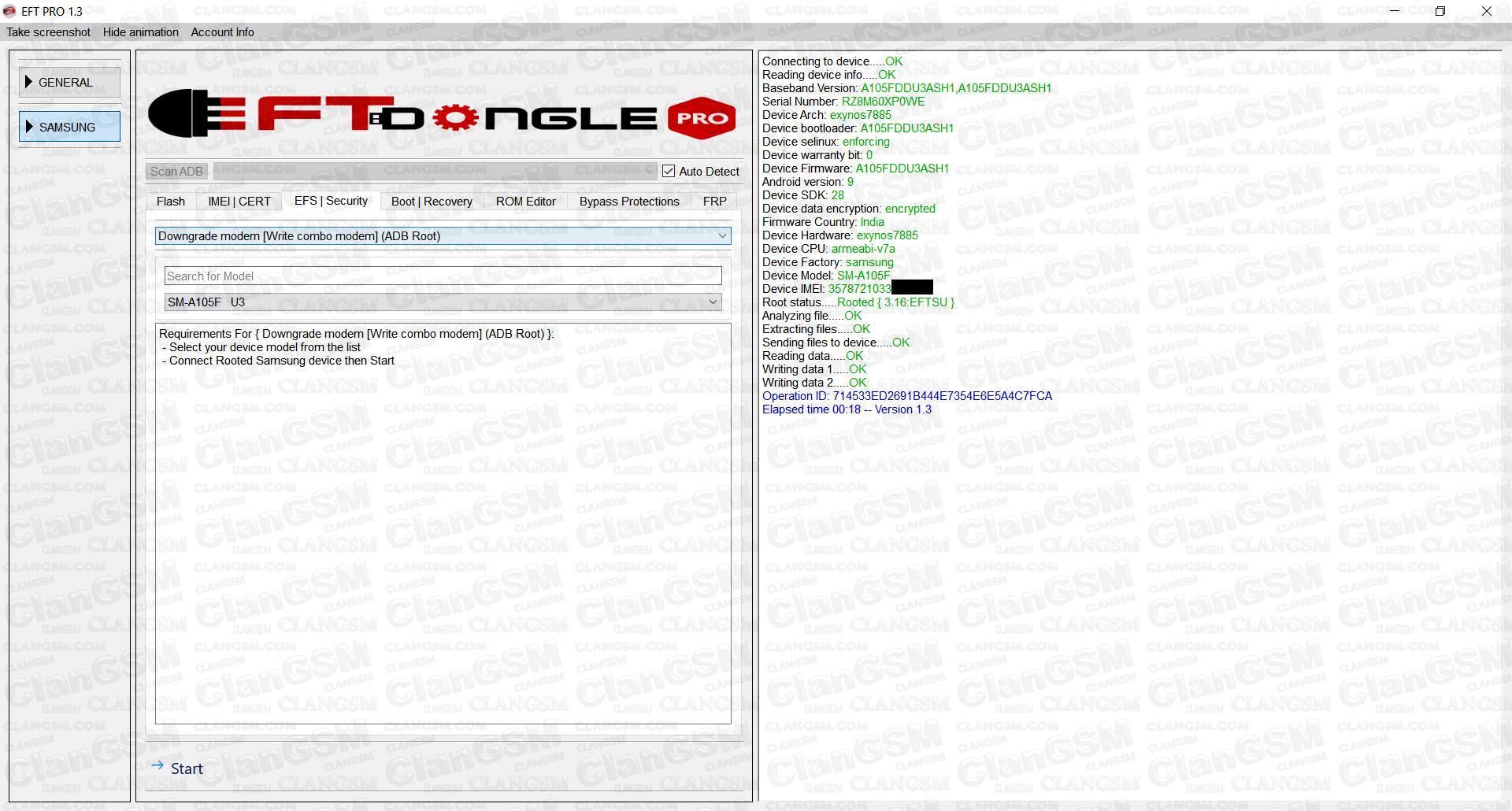 A30 A305g Binario 2 Error Repair Imei - Clan GSM - Unión de