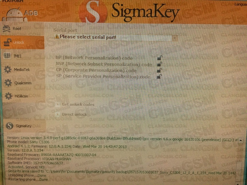 Please Select Serial Port Sigmakey Box Full - poksbuddies