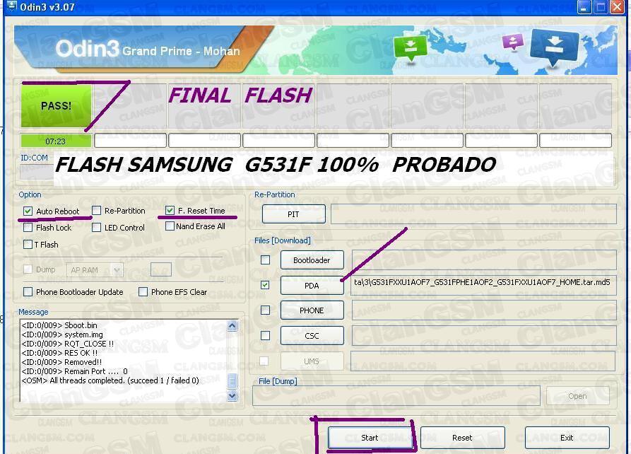 Samsung Grand Prime G531f Aporte Flash Root Y Unlock Todo En