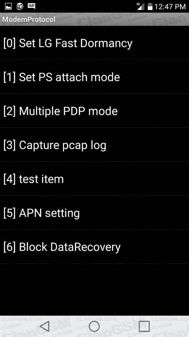 Agregar apn android settings