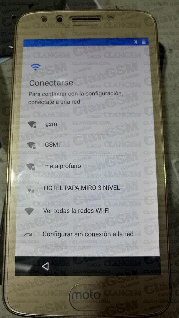 Aporte: Frp Motorola Xt1765 Con Nck - Clan GSM - Unión de los