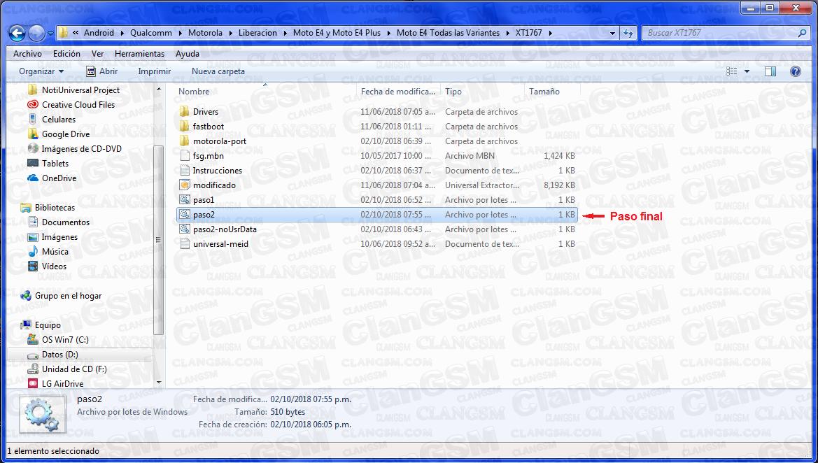 Motorola Moto E4- Xt1765,xt1766,xt1767,xt1768, Metro Pcs, Sprint