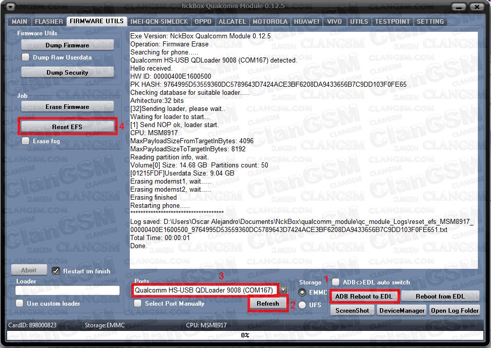 Aporte, Reparar Imei Zte V8q Qualcom - Clan GSM - Unión de