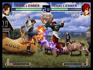 King of fighters 2002 Magic Plus II - Identi